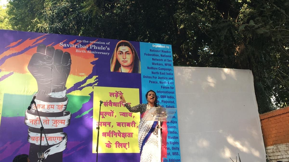 Colourful protest at Jantar Mantar as transgenders, too, join in Delhi