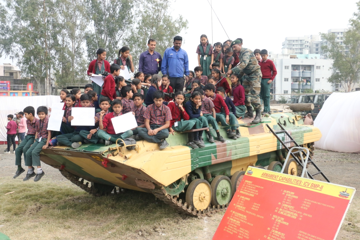 Indore: Indian Army Day celebrated with five-day artillery exhibition at Dussehra Maidan
