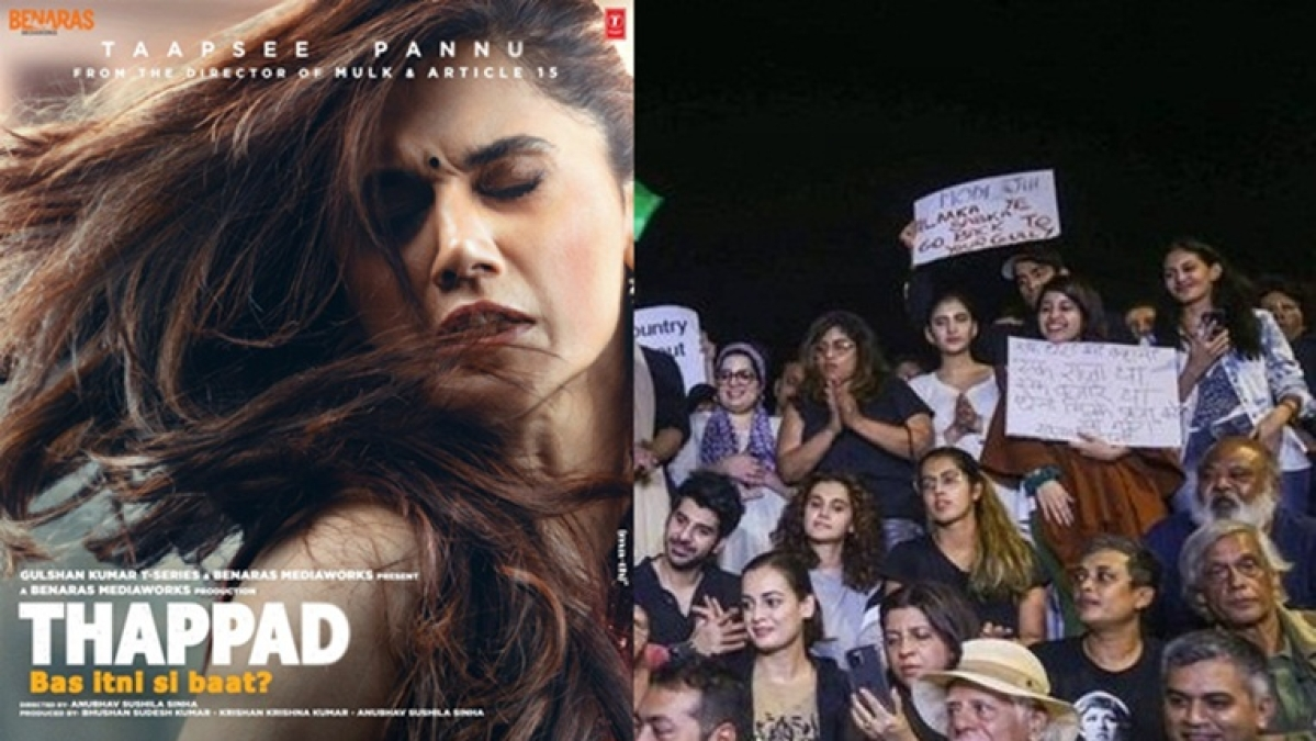 Tweeple call for boycott of 'Thappad' after 'JNU supporter' Taapsee Pannu shares first look