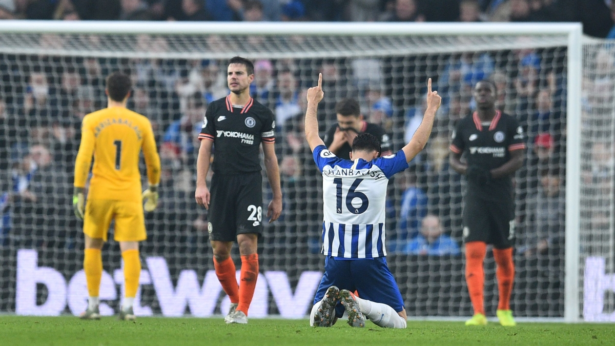 English Premier League: New Year's fizz goes flat for Chelsea