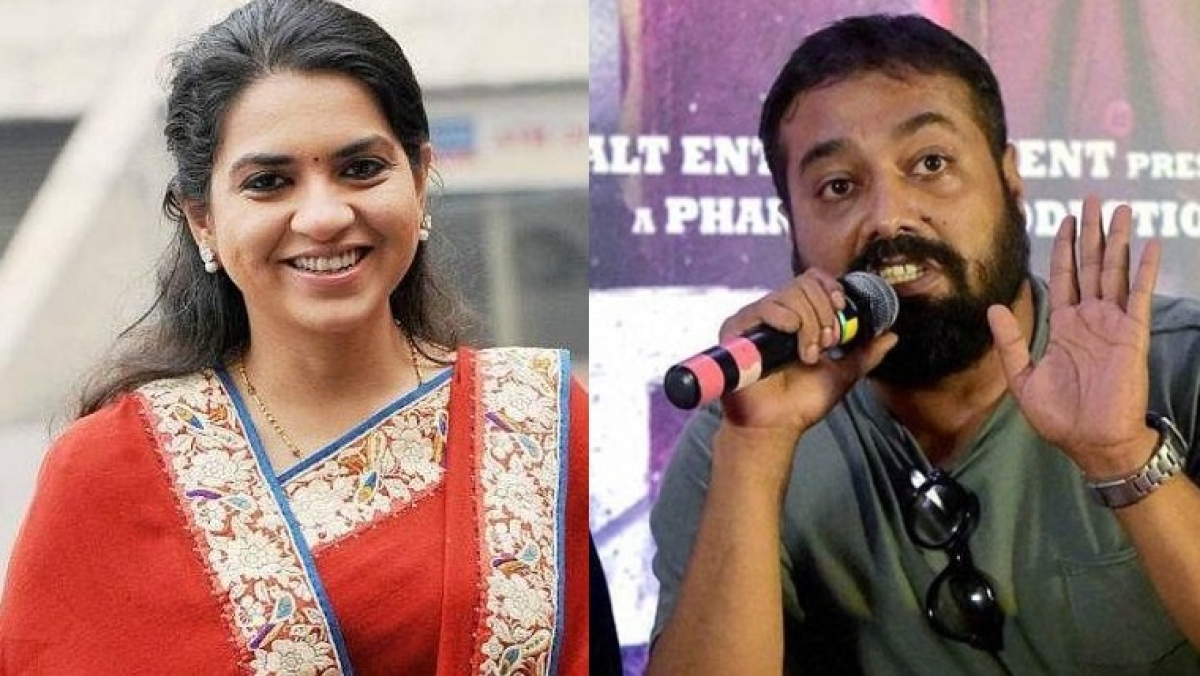 Twitterati flay BJP leader Shaina NC over tweet on Anurag Kashyap