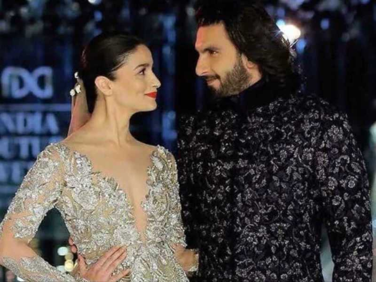 This is how Ranveer Singh reacted on Alia Bhatt's new avatar 'Gangubai Kathiawadi'