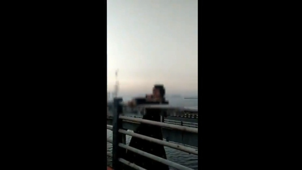 Navi Mumbai police save woman trying to commit suicide by jumping off from Vashi bridge