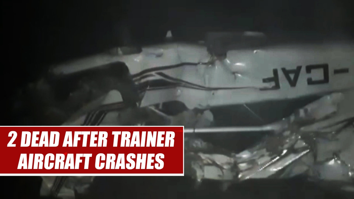 2 dead after trainer aircraft crashes in Madhya Pradesh's Sagar
