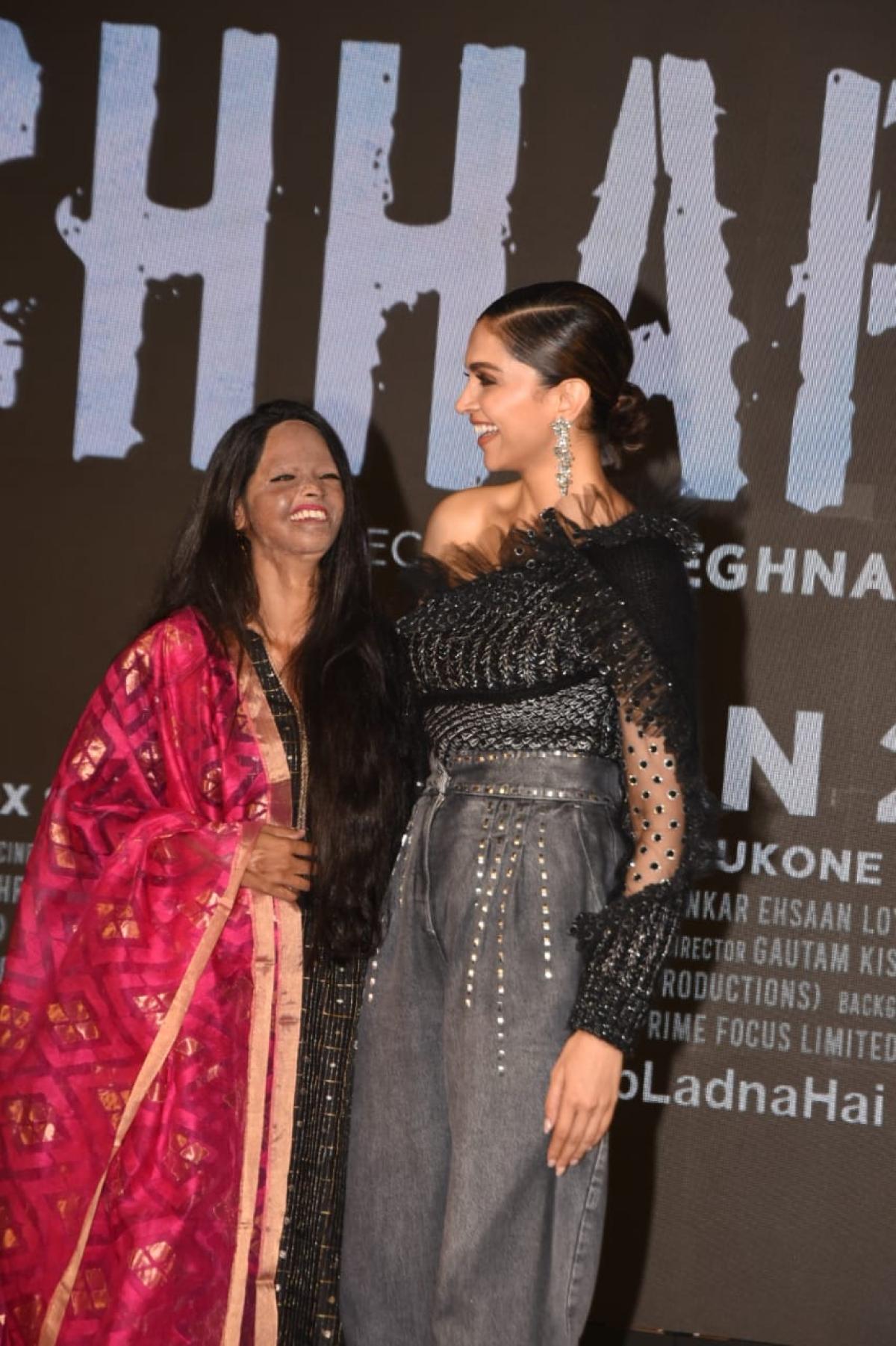 Deepika Padukone and Laxmi Agarwal