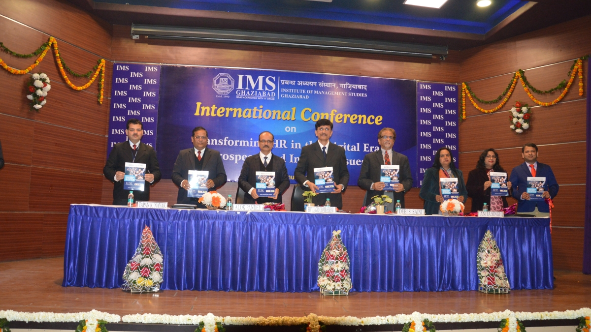 IMS Ghaziabad organises International Conference 'Transforming HR in the Digital Era'