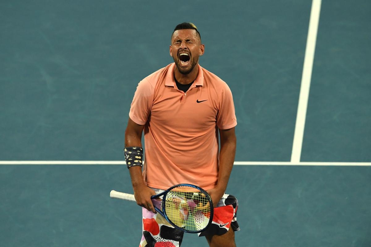 Australian Open: Kyrgios sets up Nadal showdown after five-set thriller