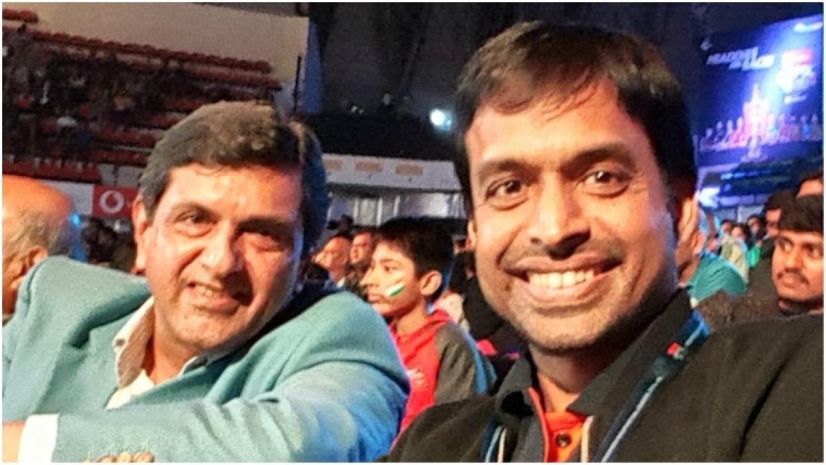 Prakash Padukone and Pullela Gopichand