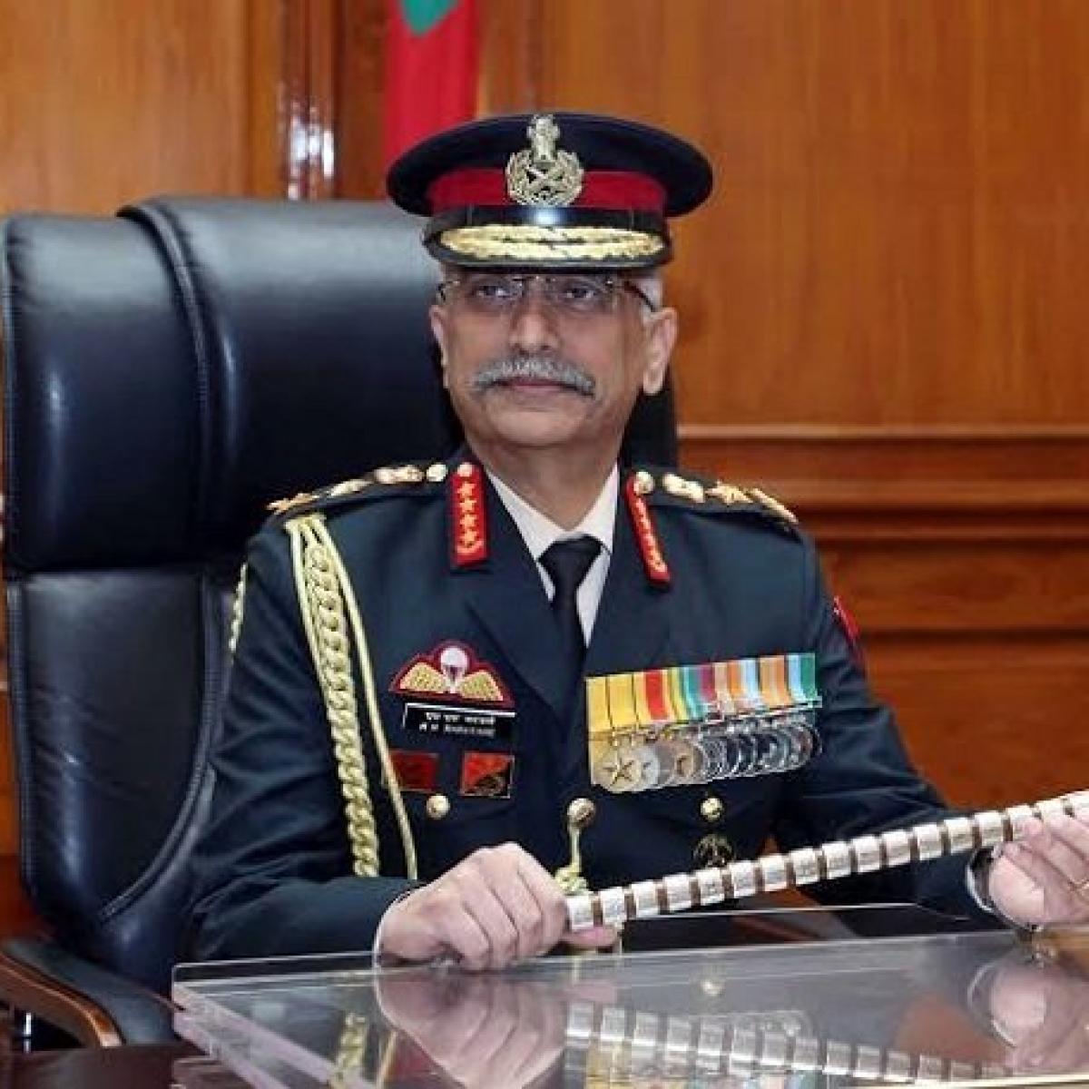 Pak continues to push terrorists, arms across LoC: Army Chief Gen Naravane