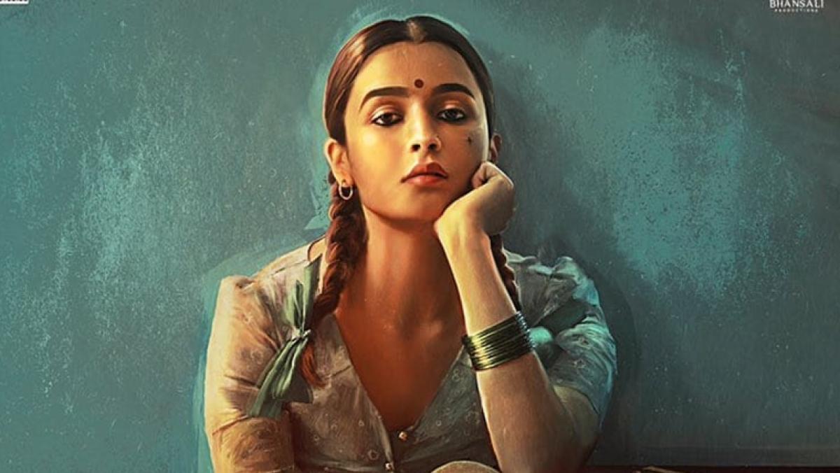 Alia Bhatt's first look in Bhansali's 'Gangubai Kathiawadi' is breaking the internet