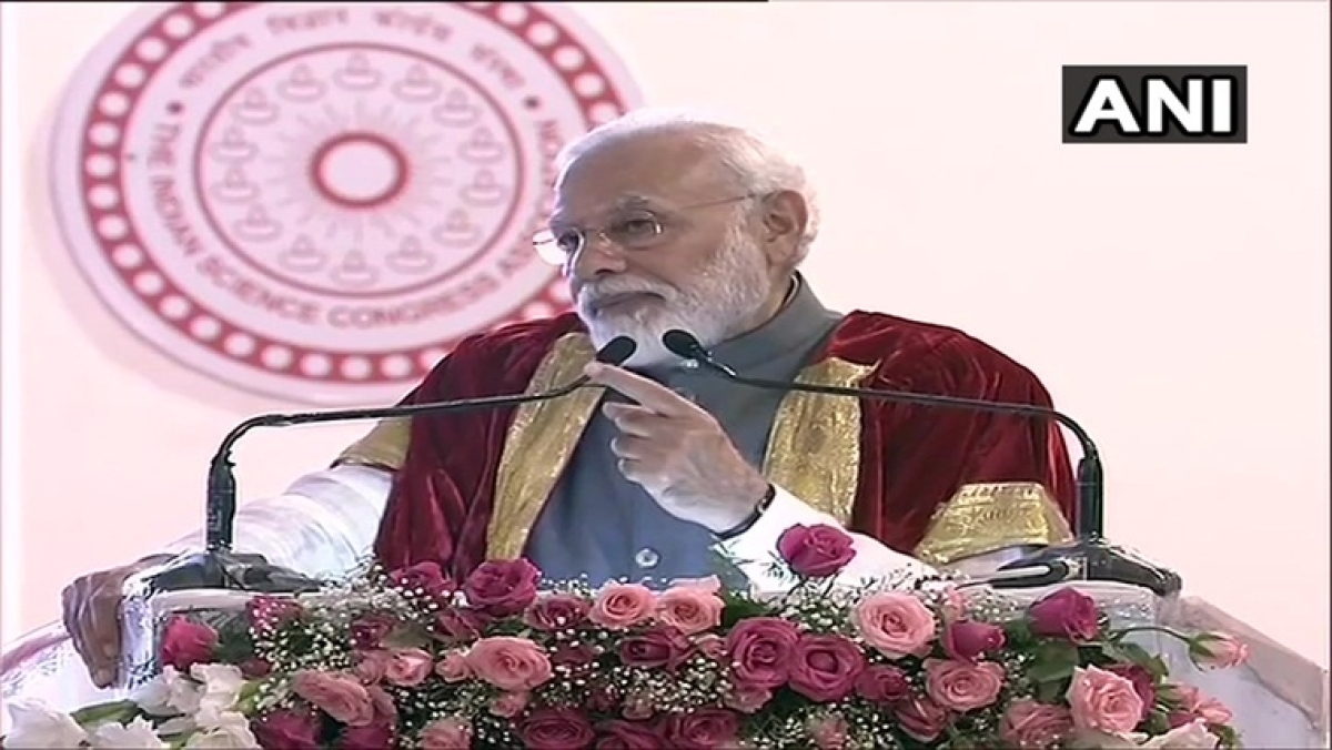 'Sci & Tech important to make India a $5-tn economy by 2024': PM Modi at 107th Science Congress
