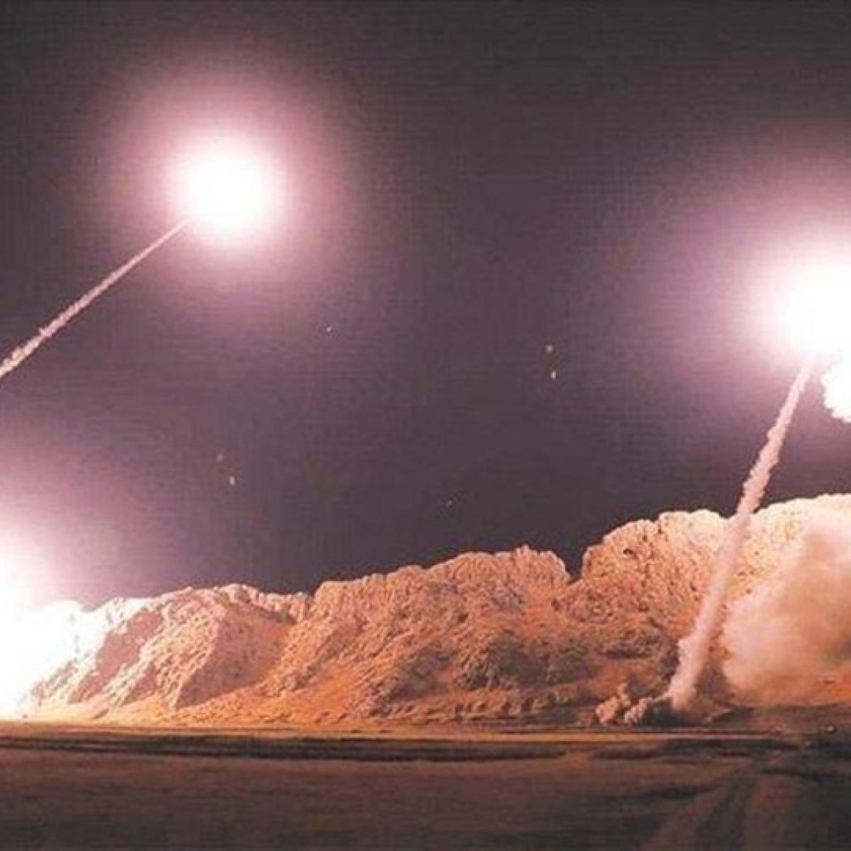 Iran launched over a dozen ballistic missiles at two US military bases in Iraq: Pentagon