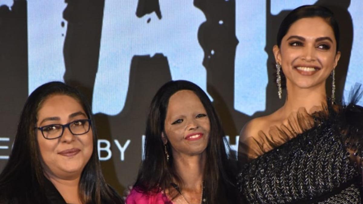 What rift? Deepika Padukone and Laxmi Agarwal grace 'Chhapaak' title track launch