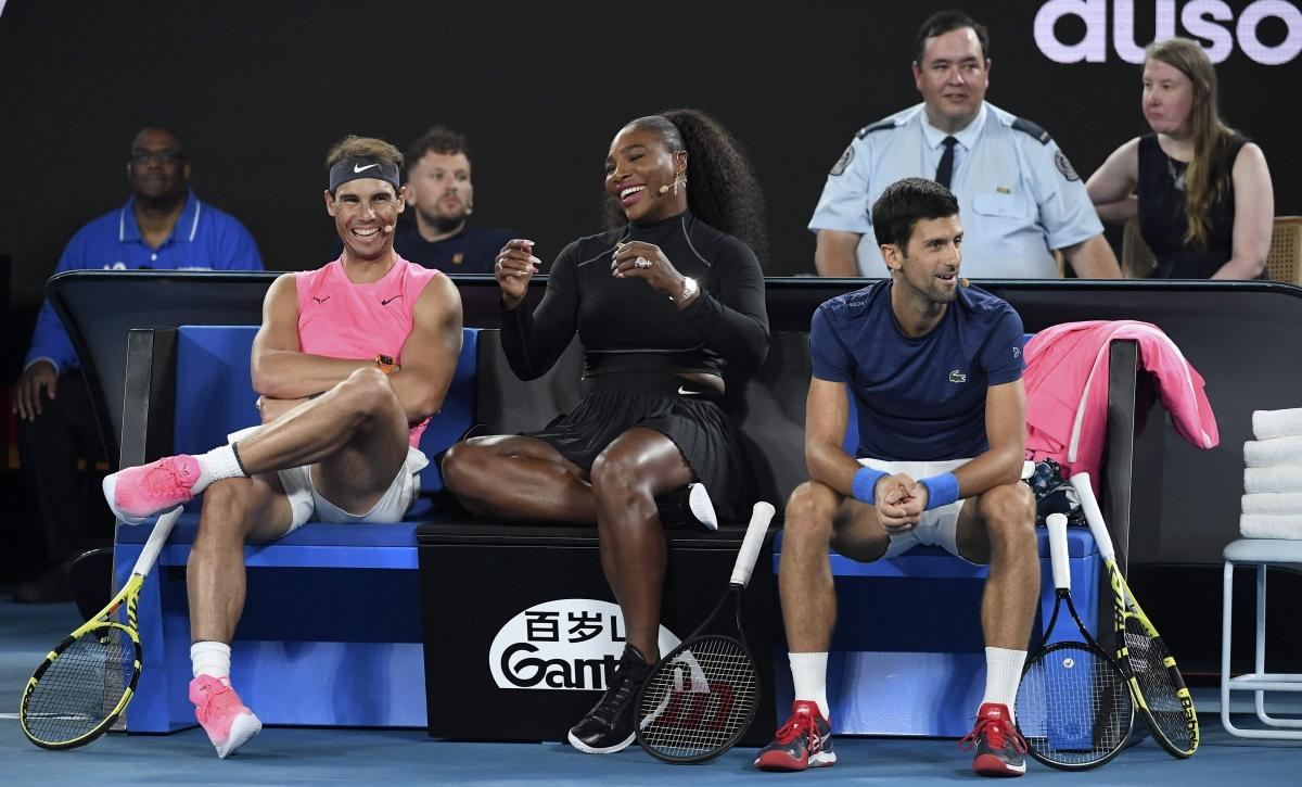 Comfortable opening for Rafael Nadal, Serena Williams