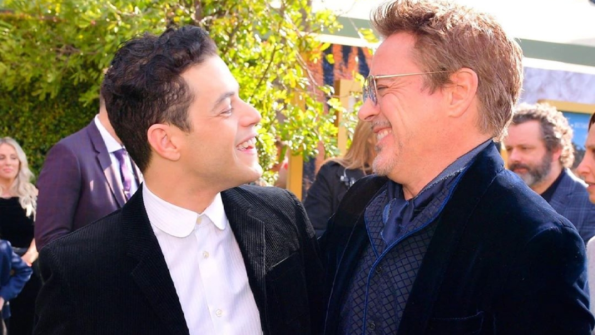 Rami Malek has a 'big crush' on Robert Downey Jr