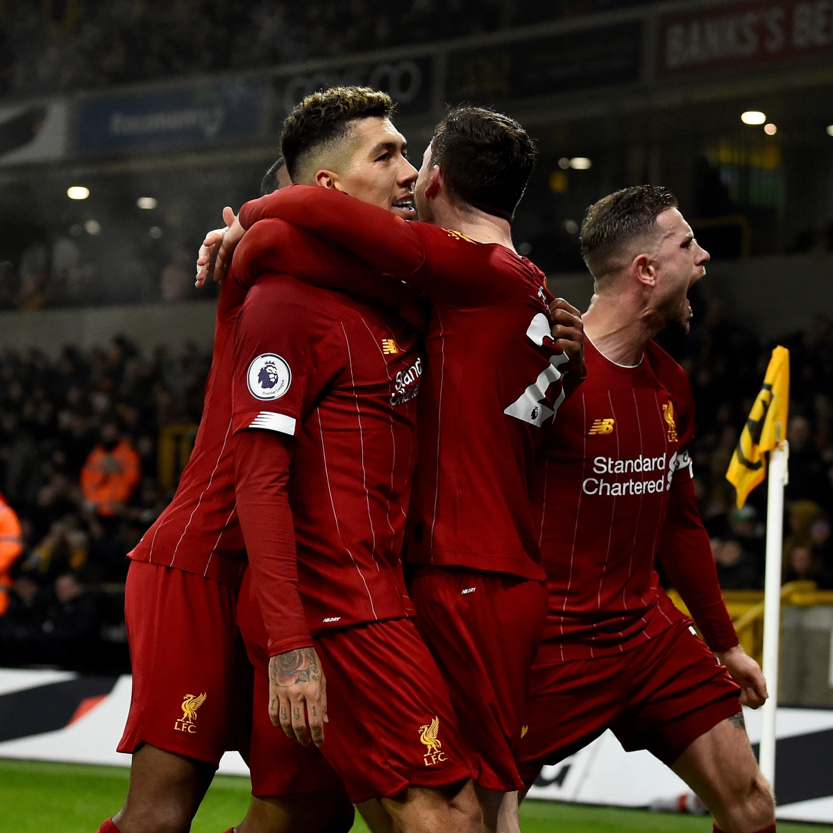 Premier League: Up the Reds! Liverpool extend winning streak to 14 matches, down Wolves 2-1