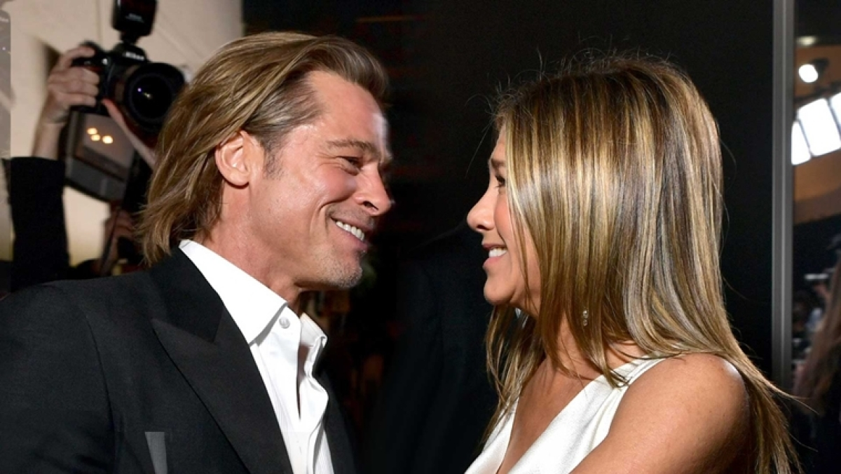 Former couple Brad Pitt and Jennifer Aniston are 'back in love'
