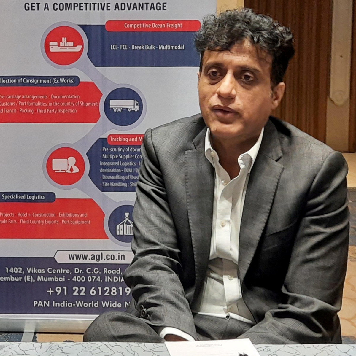 Indore is an important market, its connectivity is vital: JNPT chairman Sanjay Sethi