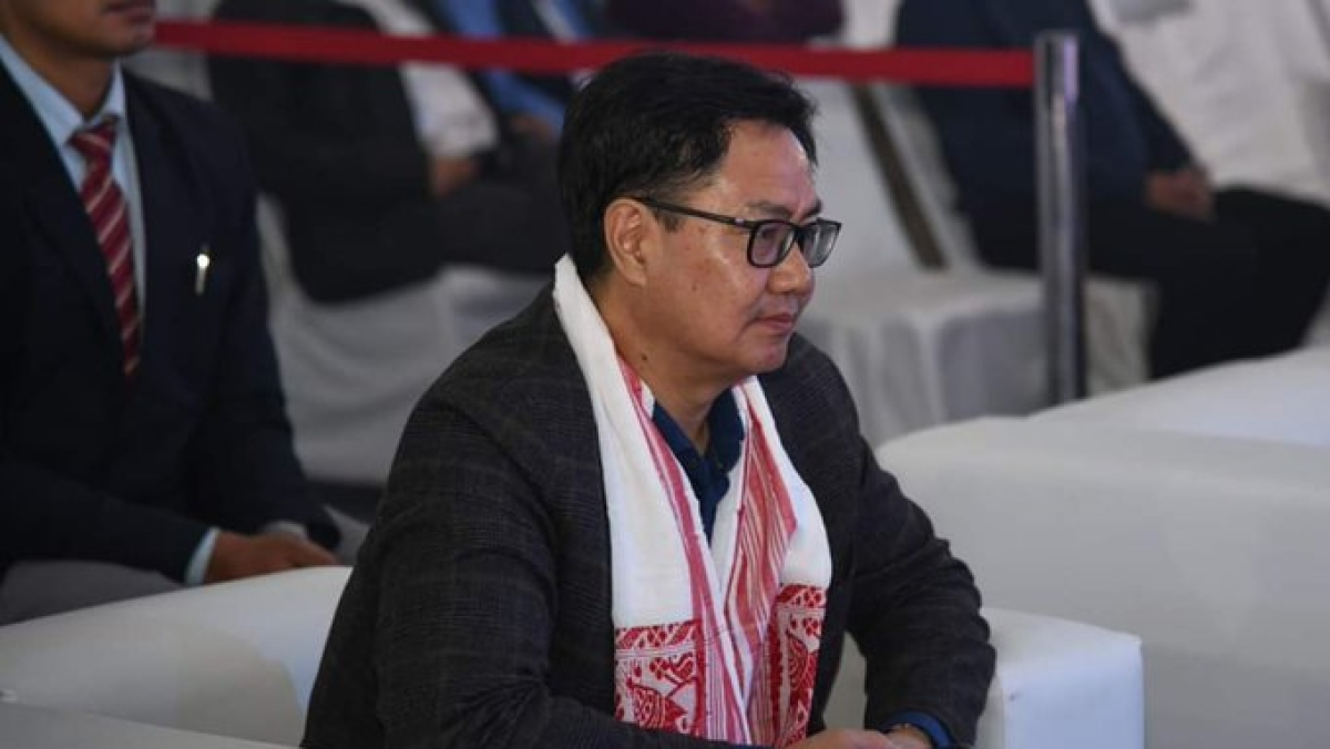 Need to find ways to make sports sustainable without fans: Sports Minister Kiren Rijiju