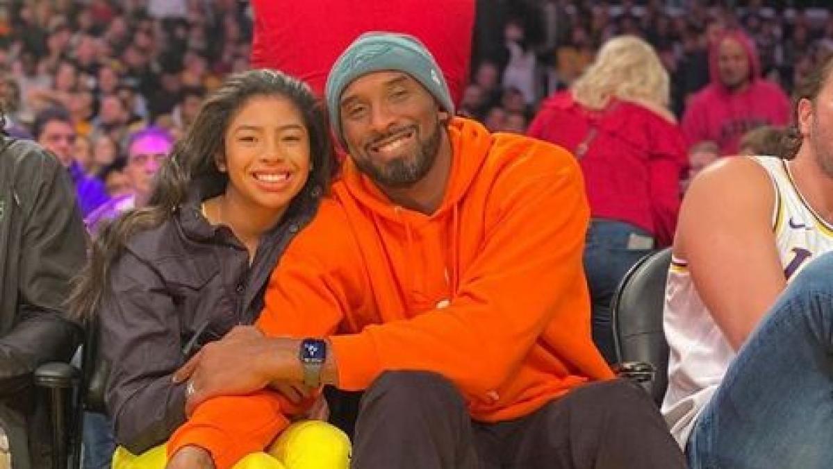 Kobe Bryant and Gianna Bryant