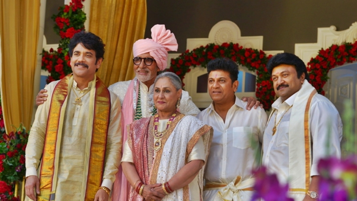Amitabh and Jaya Bachchan shoot with south superstars for upcoming project