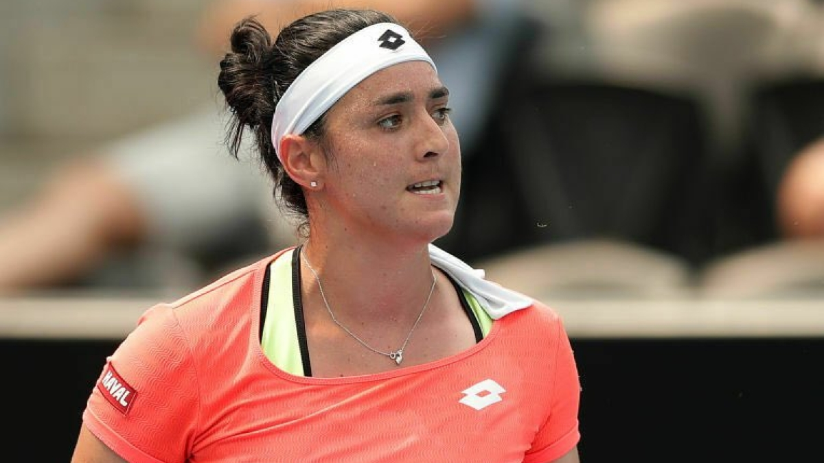 Tunisian Ons Jabeur becomes first Arab woman to reach Grand Slam quarter finals after defeating China's Wang Qiang