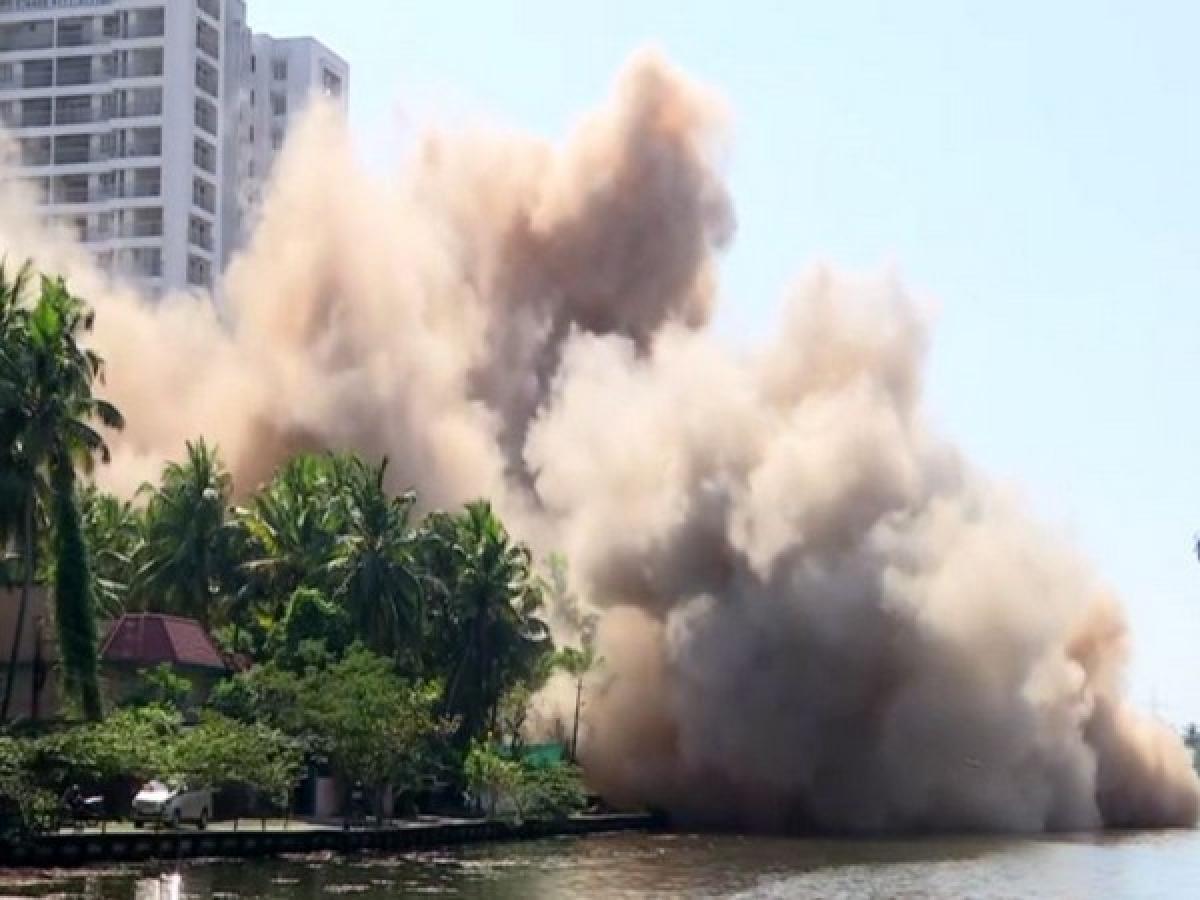 Dust and noise make life miserable for demolition-hit Maradu residents