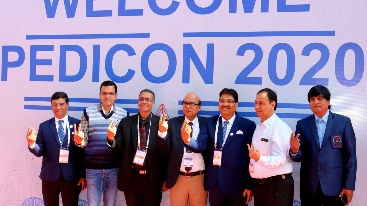 Doctors at Pedicon 2020 in Indore