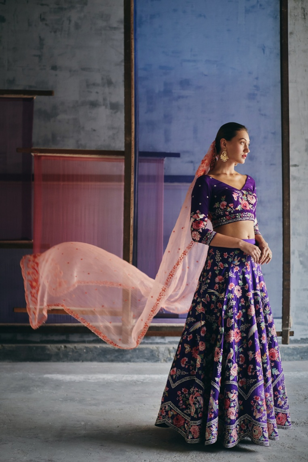 Luxury at needlepoint: From machine-made clothes, designers have now turned to traditional embroideries with a contemporary twist