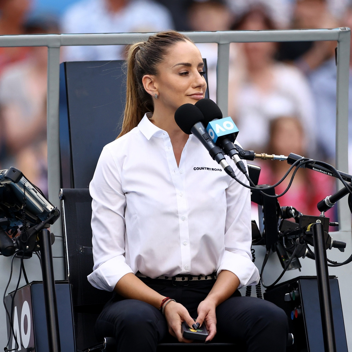 Australian Open: Who is Marijana Veljovic? Everything you need to know about the chair umpire who stole the show