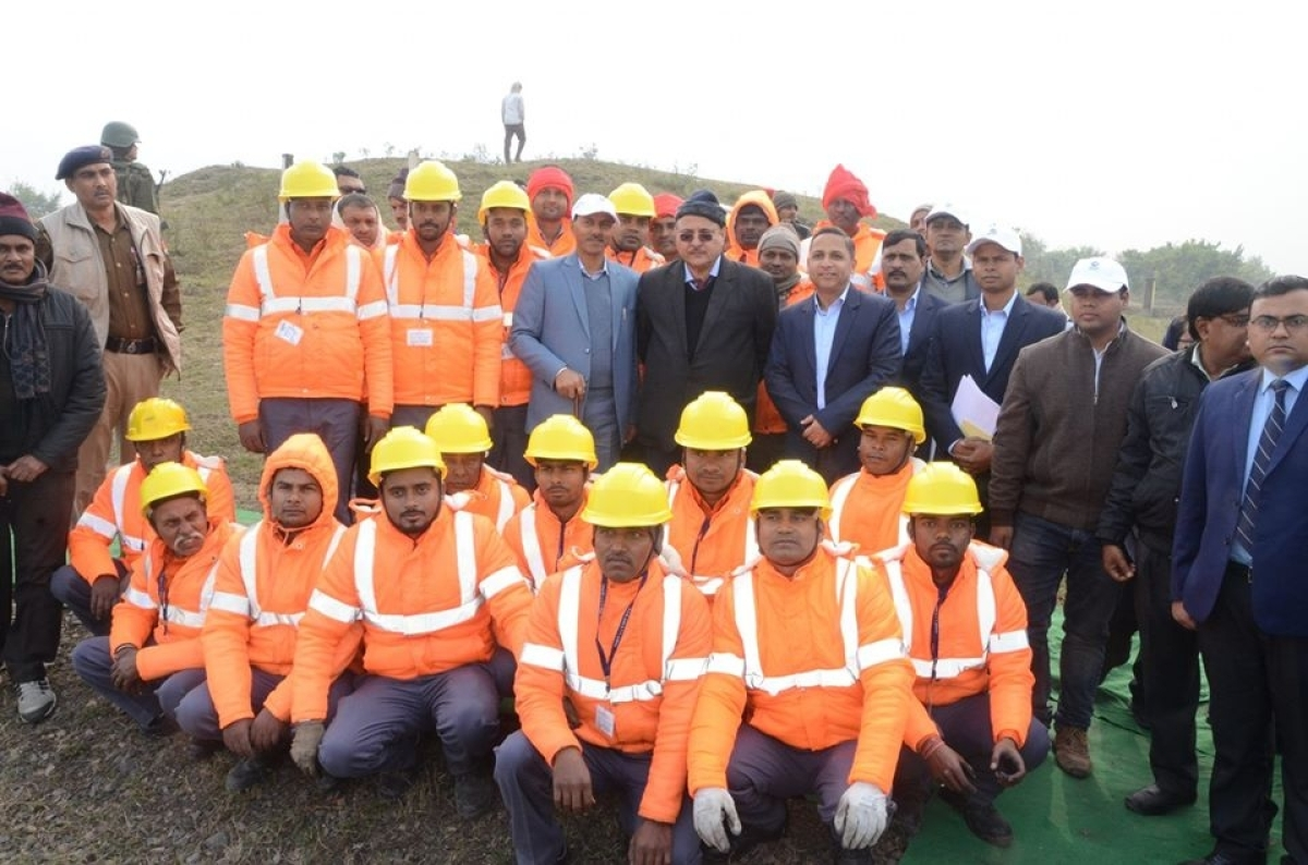 ECR GM conducts annual inspection of Mughalsarai division