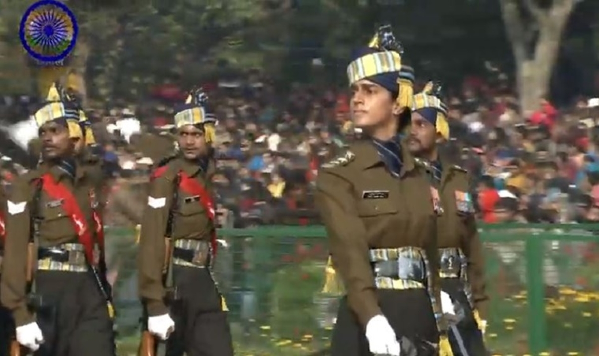 Republic Day 2020 Parade Updates: Marching contingent of Corps of Army Air Defence makes R-day parade debut