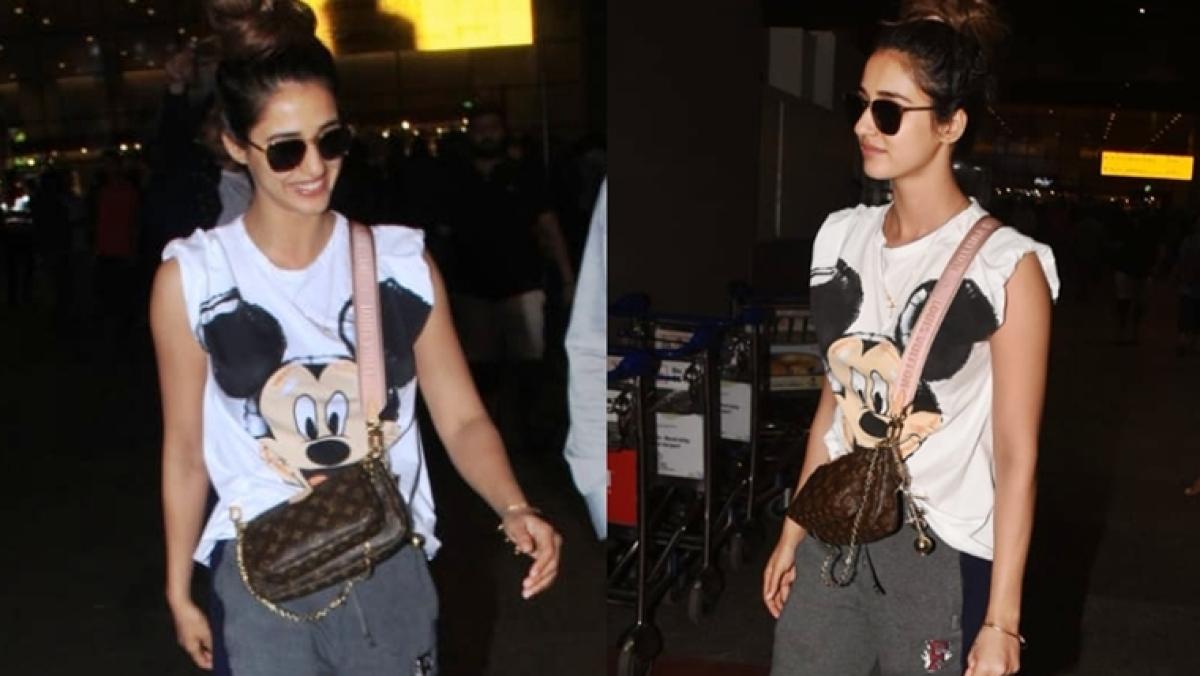 Disha Patani's tiny handbag costs way more than her lingerie!