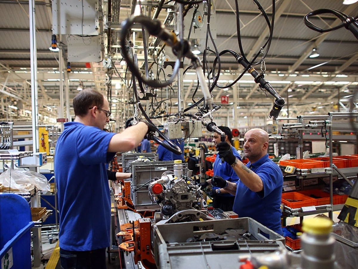 December manufacturing sector activity rises