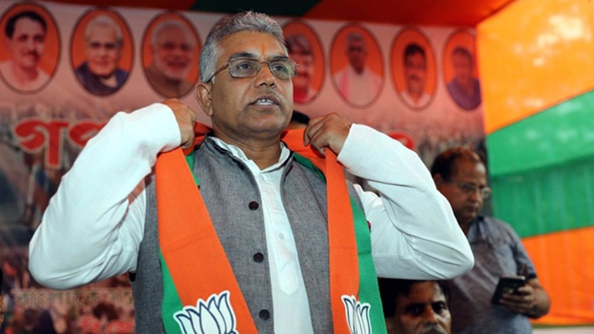 West Bengal BJP President Dilip Ghosh attacked by miscreants during morning walk
