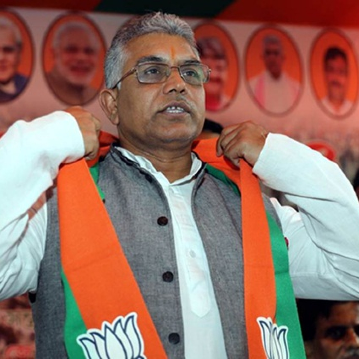 Days after 'shot like dogs' remark, Dilip Ghosh re-elected as West Bengal BJP chief