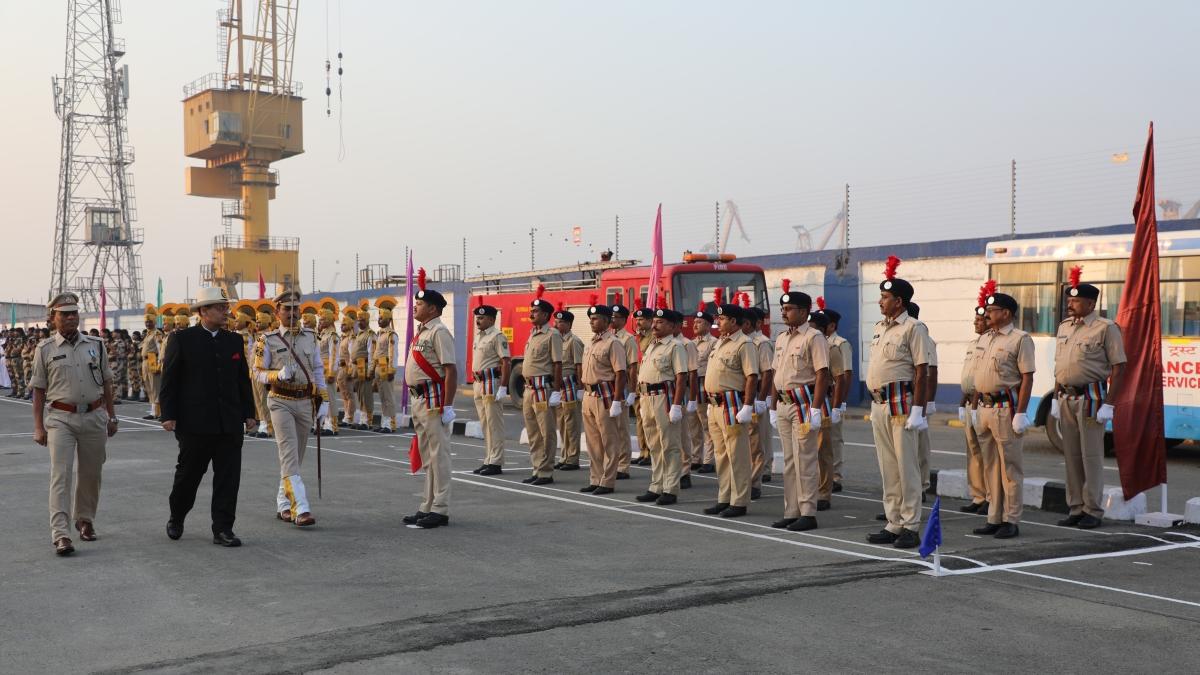 Mumbai Port Trust Celebrates Republic Day