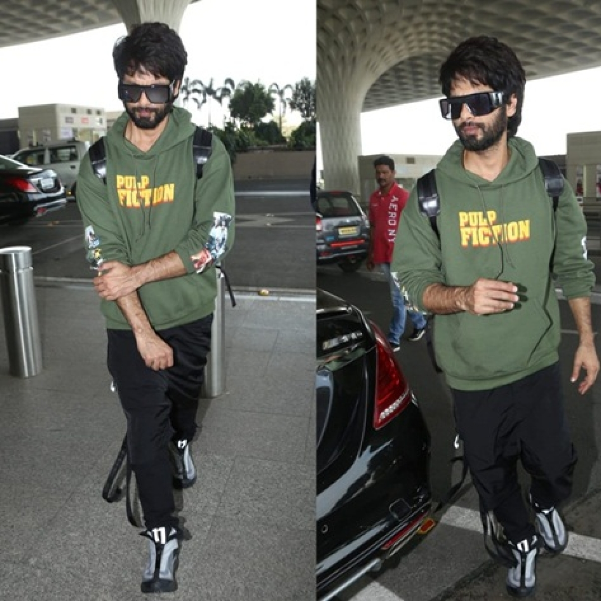 Say that again: Shahid Kapoor's Rs 5k hoodie is a must-have for every Pulp Fiction fan in their winter wardrobe