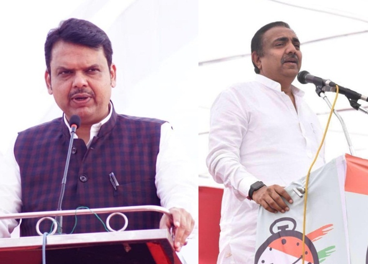 'Our only principle is NATION FIRST!': Devendra Fadnavis engages in a Twitter spat with Jayant Patil over 'Free Kashmir' poster