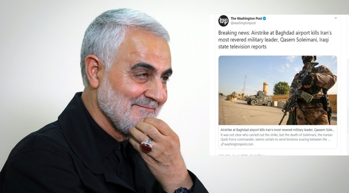'Sorry for your loss': Twitterati troll Washington Post for calling Iranian General Qaseem Soleimani a 'revered military leader'