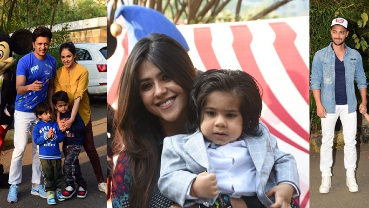 Ravie's birthday bash: Ekta Kapoor celebrates with Riteish Deshmukh, Aayush Sharma and others