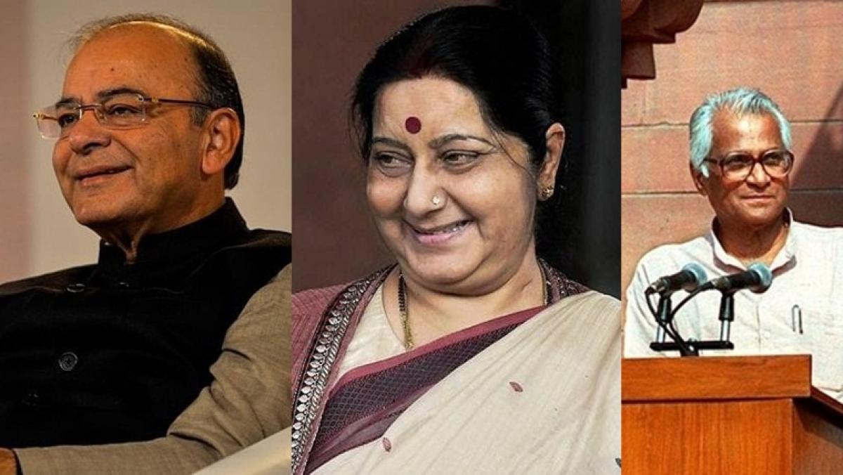Arun Jaitley, Sushma Swaraj and George Fernandes awarded Padma Vibhushan posthumously; Padma Bhushan for Manohar Parrikar