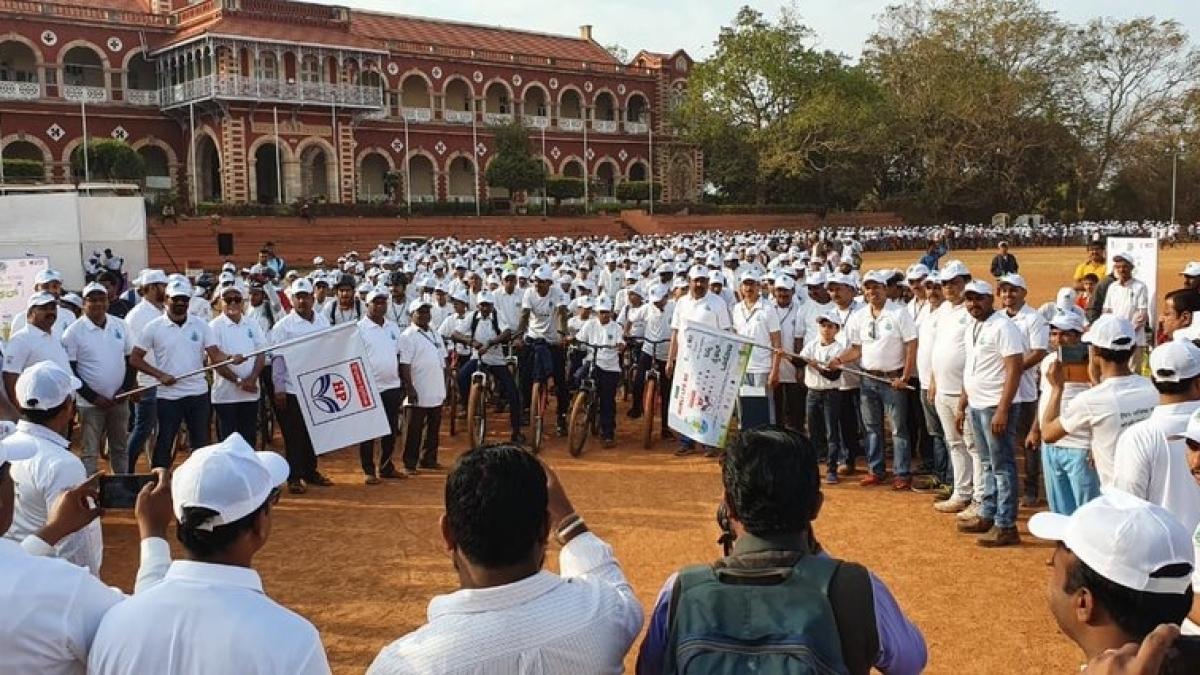 HPCL participates in Saksham Cyclothon 2020