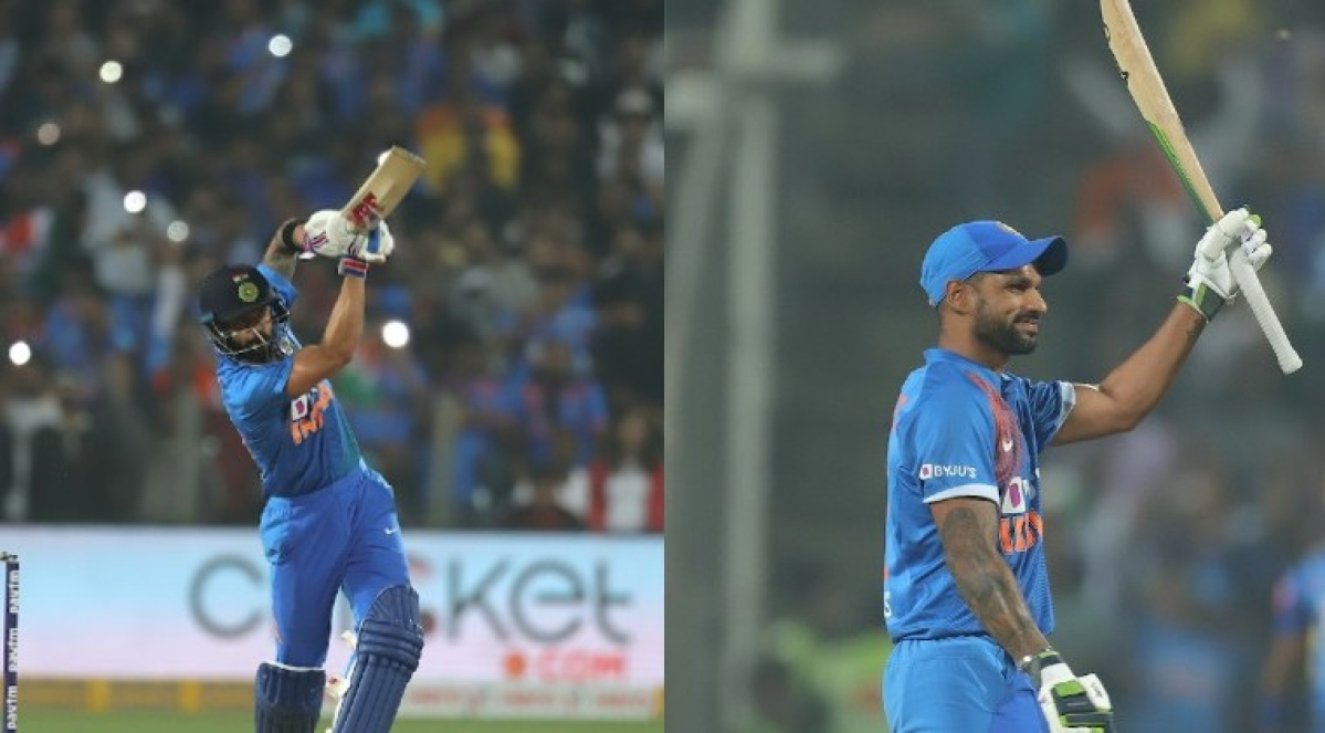Shikhar Dhawan, Virat Kohli advance in ICC T20I rankings after India beat Sri Lanka 2-0
