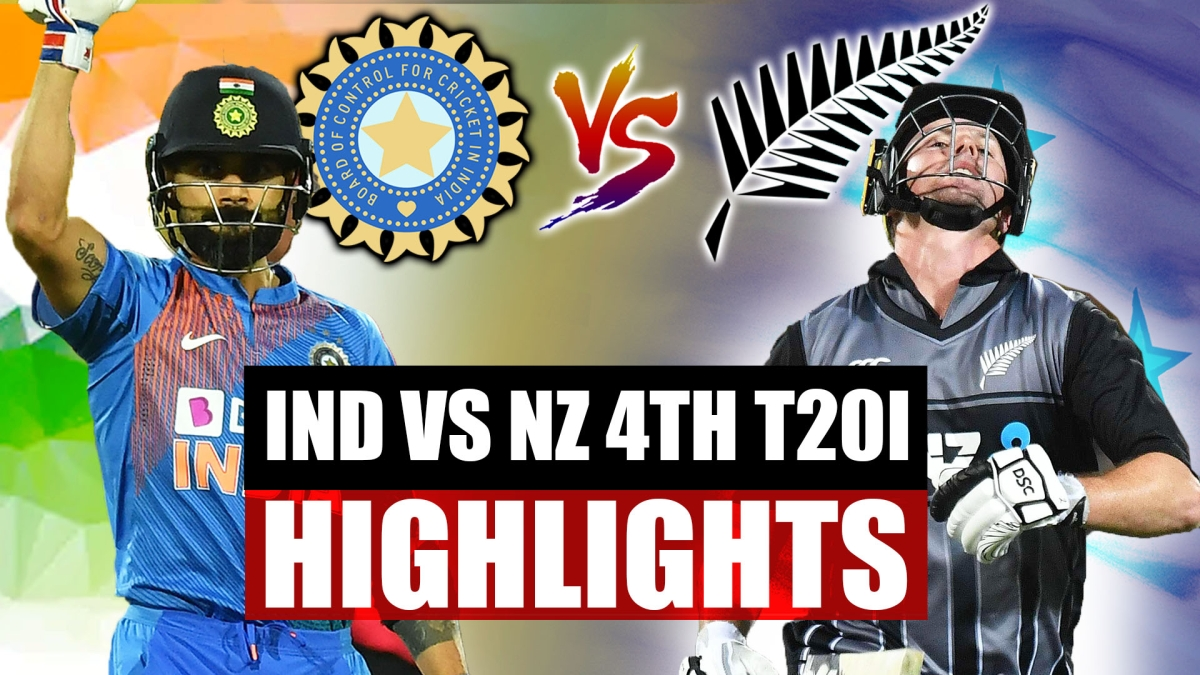 India vs New Zealand 4th T20I Highlights: Another superover, another victory for Virat's Men in Blue
