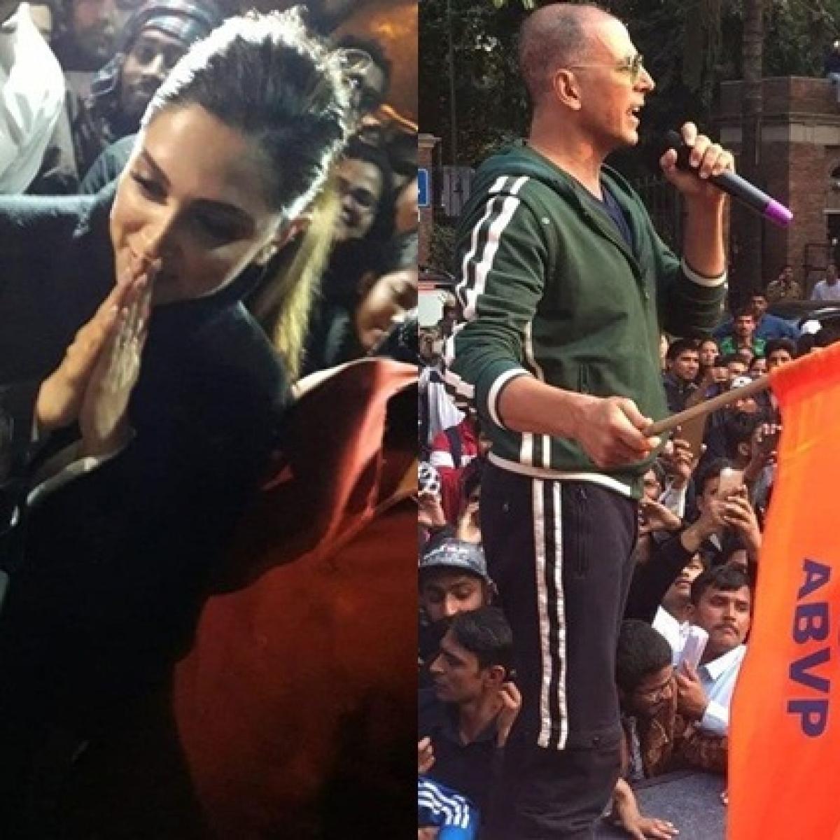 'Better than being a fence sitter': Milind Deora backs Deepika Padukone for visiting JNU, Akshay Kumar for raising ABVP flag