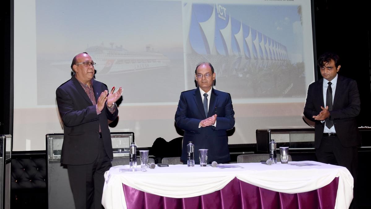 MPT Chairman inaugurates jewellery exhibition on board the cruise vessel – Karnika