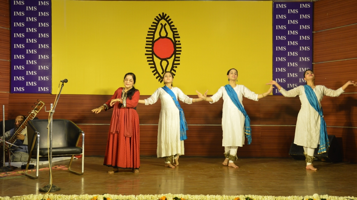 IMS Ghaziabad organises cultural show by SPIC MACAY