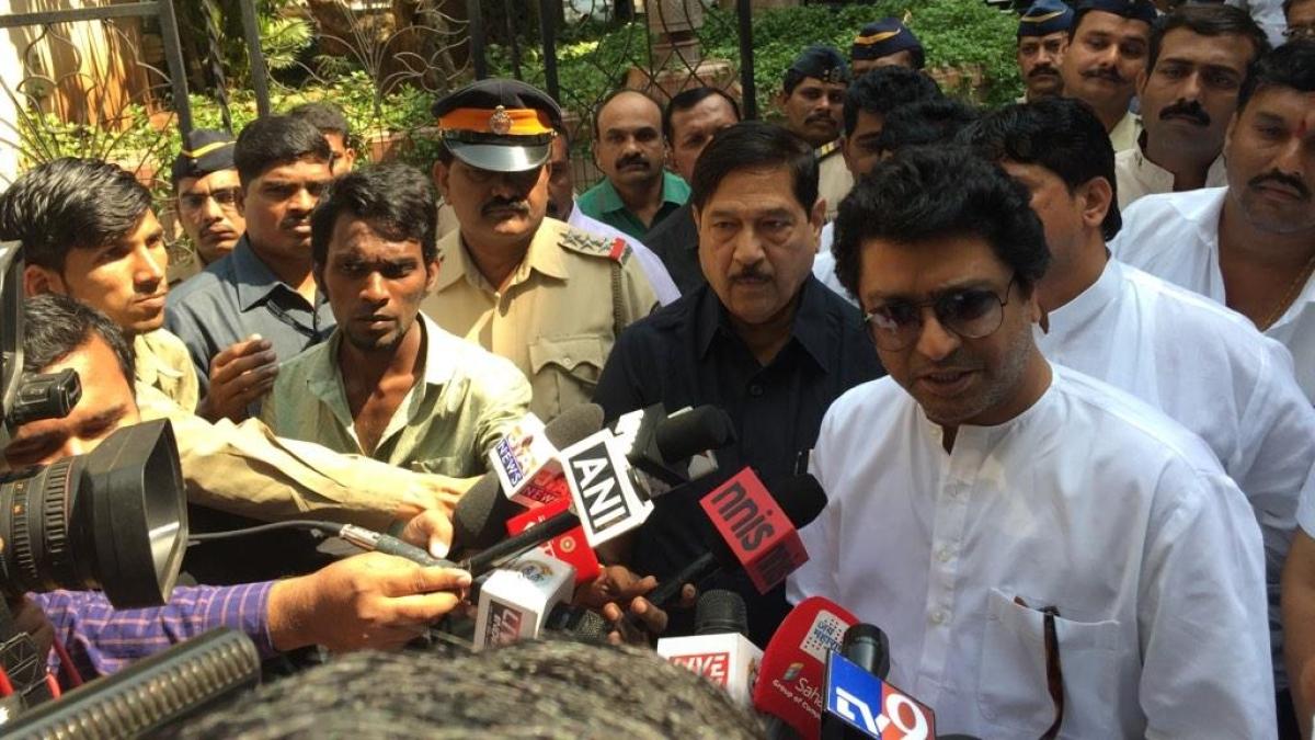 Maharashtra Navnirman Sena chief Raj Thackeray.