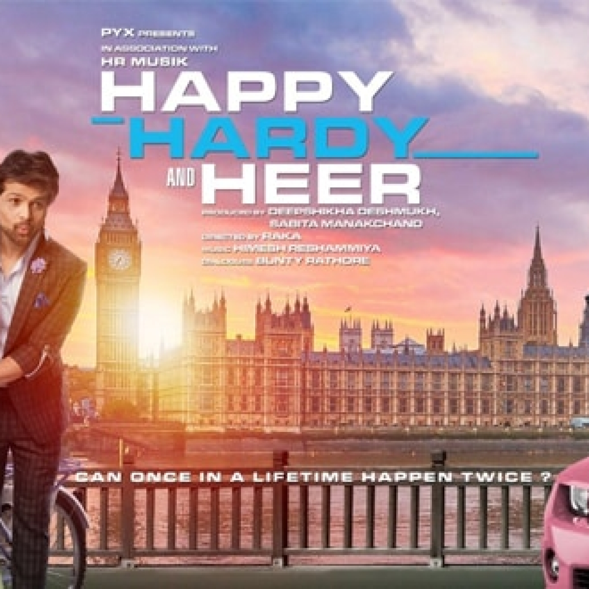 Happy Hardy and Heer Movie Review: Himesh fans may like it